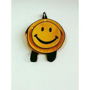 Vintage Smiley back pack